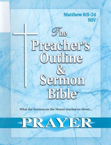 The Preacher's Outline & Sermon Bible: Matthew