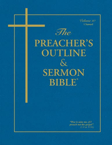 Preacher's Outline & Sermon Bible-KJV-1 Samuel (1574071629) by Leadership Ministries Worldwide