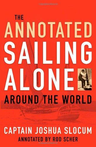 9781574092752: Annotated Sailing Alone Around The World