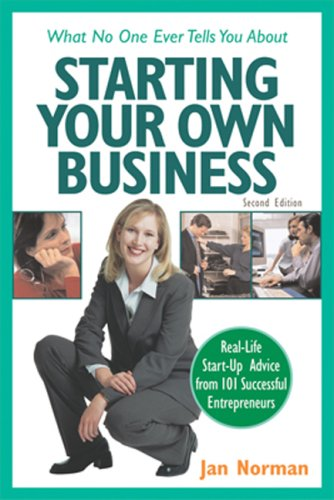9781574101126: What No One Ever Tells You about Starting Your Own Business