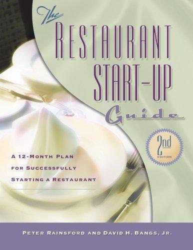 9781574101379: The Restaurant Start-Up Guide