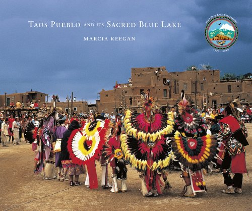 Taos Pueblo and Its Sacred Blue Lake (1574160990) by Marcia Keegan