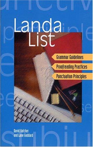 Landa List: Hatcher, David