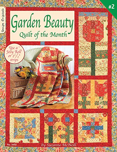 Garden Beauty Quilt of the Month - #2 (#3432) (1574212842) by Suzanne McNeill