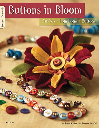 9781574212860: Buttons in Bloom: Yo Yos Pom Poms Buttons