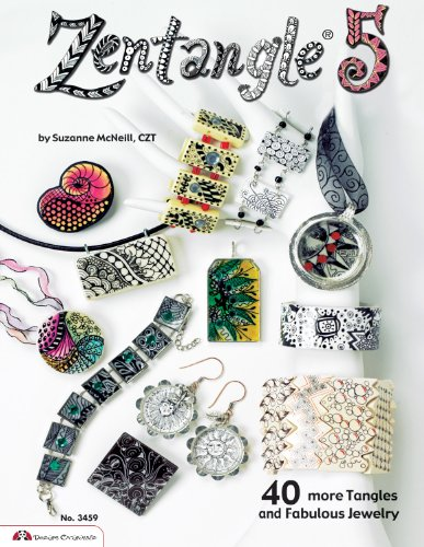 9781574213362: Zentangle 5: 40 More Tangles and Fabulous Jewelry (Sequel to Zentangle Basics, 2, 3 and 4)