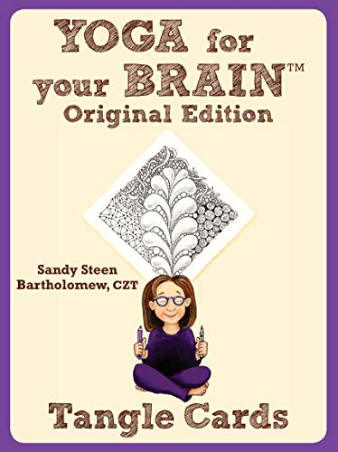 9781574213560: Yoga for Your Brain Tangle Cards: Tangle Cards