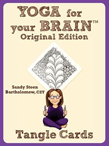 9781574213560: Yoga for Your Brain Original Edition: Tangle Cards (Design Originals)