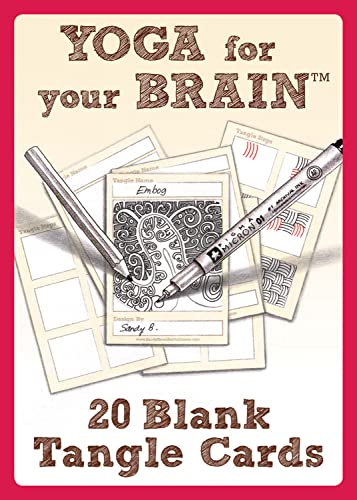 Yoga for Your Brain Blank Cards D.I.y: Sandy Steen Bartholomew