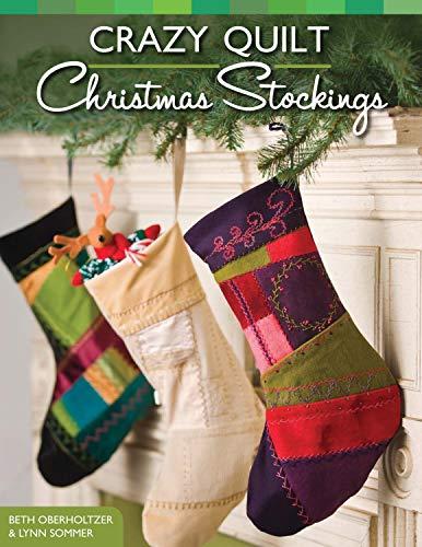 9781574213607: Crazy Quilt Christmas Stockings (Design Originals)
