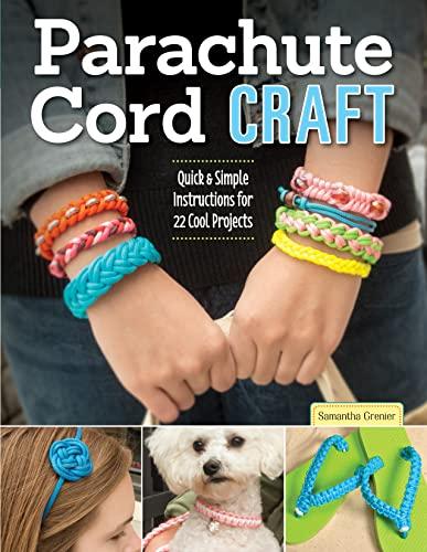 Design Originals-Parachute Cord Craft: Pepperell Company; Grenier, Samantha
