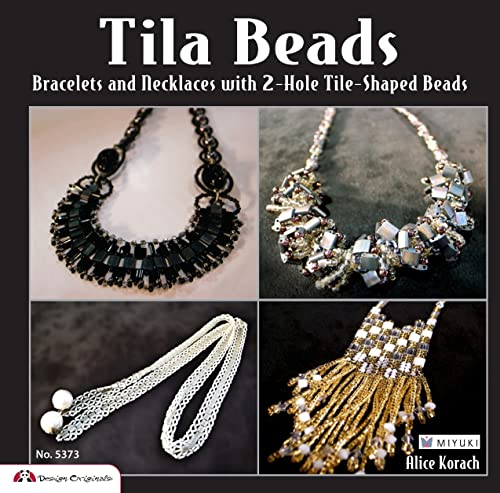 9781574214024: Tila Beads: Bracelets, Necklaces and Fobs With 2-hole Tile-shaped Beads