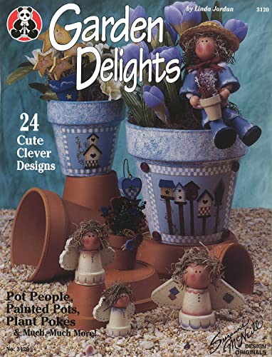 Garden Delights: Pot People, Painted Pots, Plant Pokes & Much Much More (Design Originals) (1574214497) by Linda Jordan