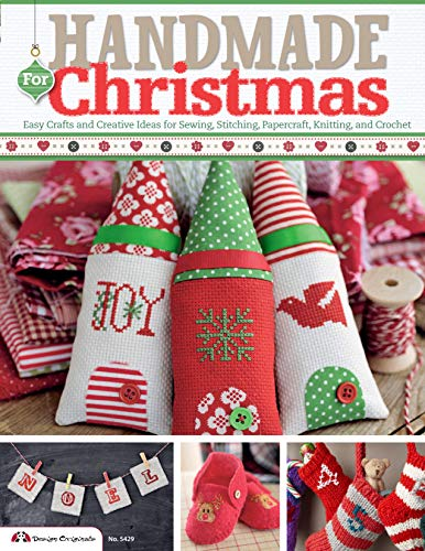 9781574215083: Handmade for Christmas: Easy Crafts and Creative Ideas for Sewing, Stitching, Papercraft, Knitting, and Crochet
