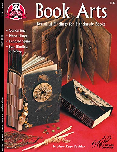 Book Arts: Beautiful Bindings for Handmade Books (Can Do Crafts) 9781574215304 Handcrafted books of all types. Books can take on a variety of shapes and sizes. A step by step guide for creating these books.