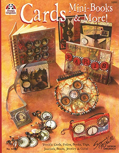9781574215632: Cards Mini-Books & More: Terrific Cards, Folios, Books, Tags, Journals, Boxes, Jewelry and Gifts (Design Originals)