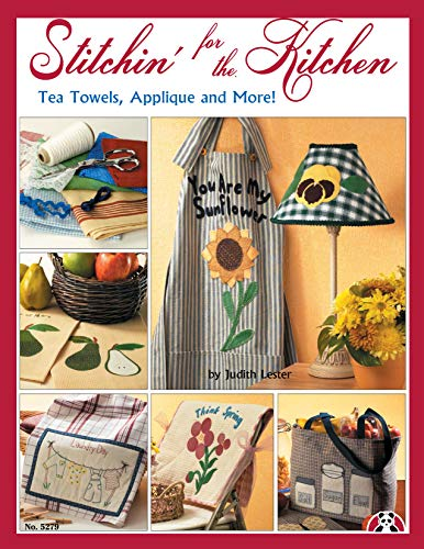 9781574215892: Stitchin' for the Kitchen: Tea Towels, Applique and More!