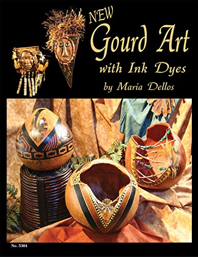 9781574216141: New Gourd Art with Ink Dyes