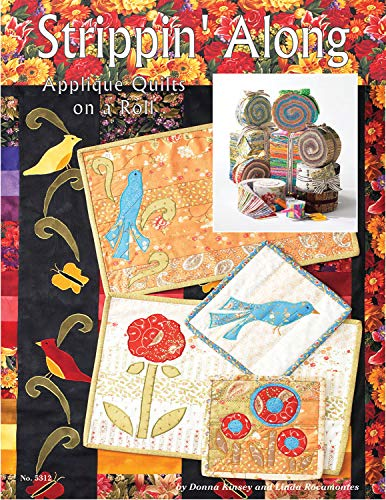 9781574216226: Strippin' Along: Applique Quilts On A Roll