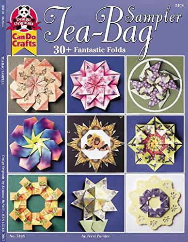 TEA BAG ART} Tea-Bag Sampler : 30+ Fantastic Folds: Pointer, Terri {Designs By}