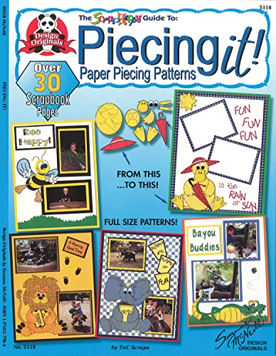 9781574217988: Piecing It!: The Scrap Happy Guide to Paper Piecing Patterns (Scrap happy guides)