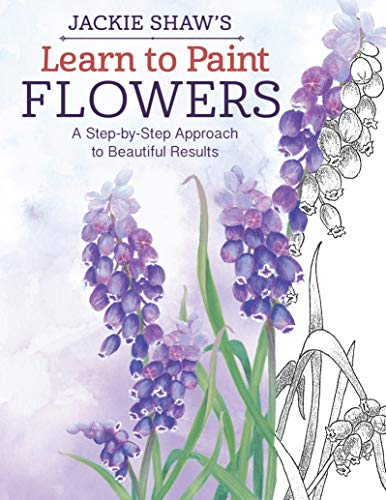 9781574218633: Learn to Paint Flowers: A Step-by-Step Approach to Artistic Designs