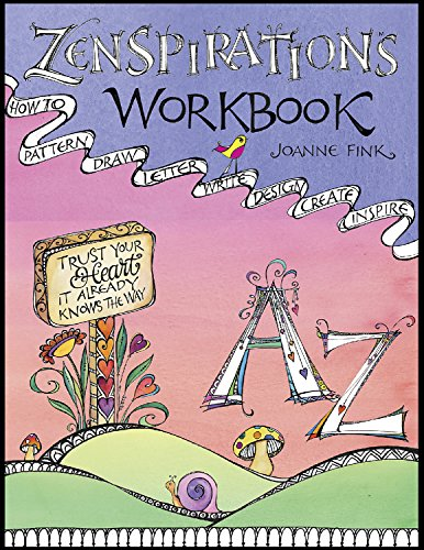 9781574218749: Zenspirations(tm) Workbook: How to Pattern, Draw, Letter, Write, Design, Create, Inspire