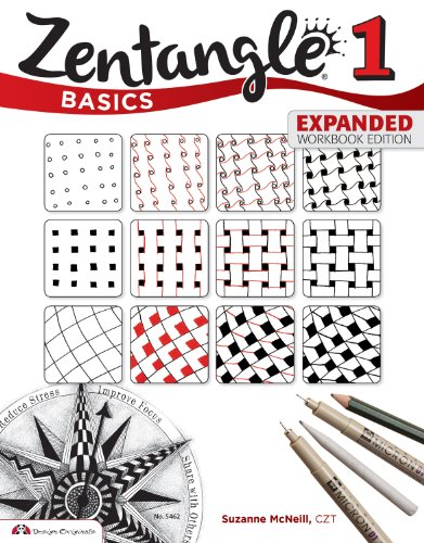 9781574219043: Zentangle Basics, Expanded Workbook Edition: A Creative Art Form Where All You Need is Paper, Pencil & Pen