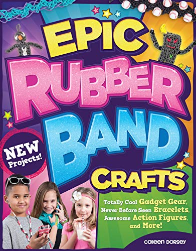 9781574219142: Epic Rubber Band Crafts