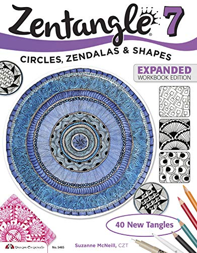 9781574219500: Zentangle 7: Circles, Zendalas & Shapes