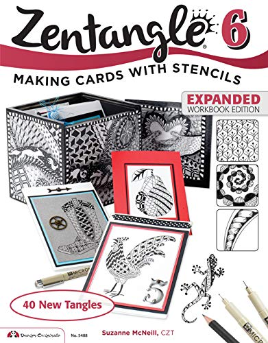 9781574219531: Zentangle 6, Expanded Workbook Edition (Design Originals)