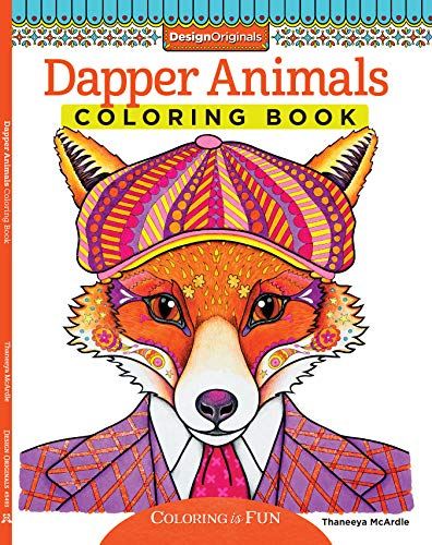 Dapper Animals Coloring Book (Coloring is Fun) (Design Originals)