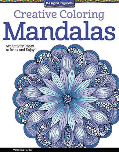 9781574219739: Creative Coloring Mandalas: Art Activity Pages to Relax and Enjoy!