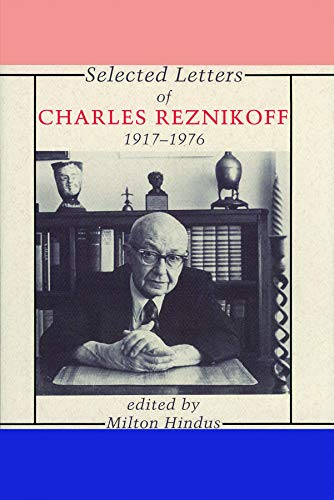 early life of charles reznikoff The stranger in the metropolis: urban identities in the poetry of charles reznikoff like reznikoff, was early linked to the objectivists.