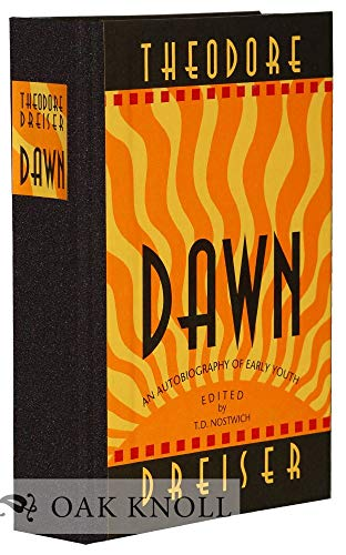 9781574230758: Dawn: An Autobiography of Early Youth
