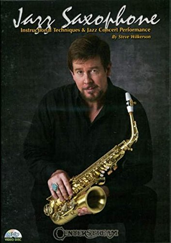 9781574241518: Centerstream Publishing Jazz Saxohone - Instructional Techniques and Jazz Concert Performance (DVD)