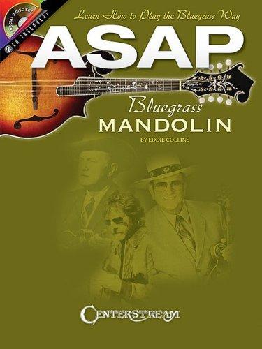 9781574242454: ASAP Bluegrass Mandolin BK/2CD