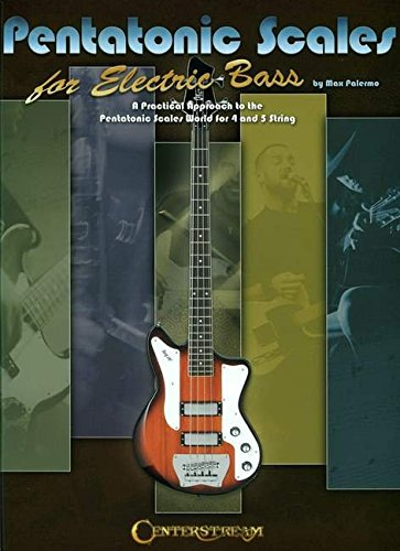 9781574242478: Pentatonic Scales for Electric Bass Book