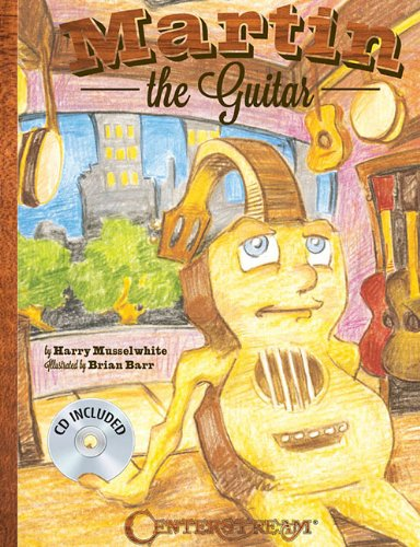 Martin The Guitar (Hardcover Book/CD): Musselwhite, Harry