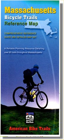 9781574301212: Massachusetts Bicycle Trails Reference Map & Guide Set