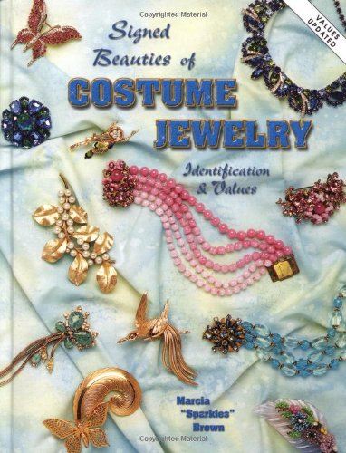 Signed Beauties of Costume Jewelry: Marcia Sparkles Brown