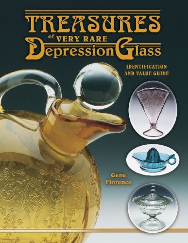 9781574323368: Treasures Of Very Rare Depression Glass, Identification and Value Guide