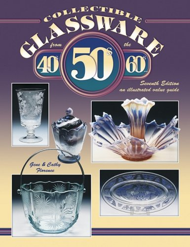 Collectible Glassware from the 40s, 50s, 60s: Gene Florence, Cathy