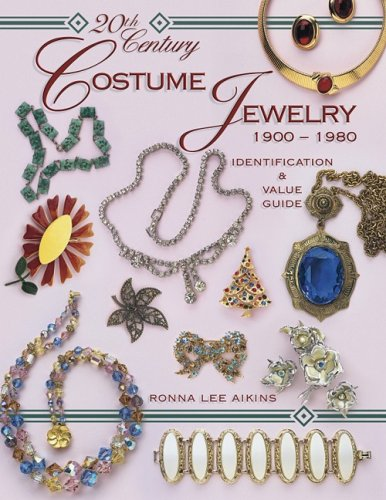 20th Century Costume Jewelry 1900 1980 Identification and Value Guide by Ronna Aikins 2004 ...