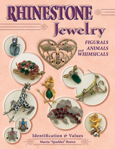"""Rhinestone Jewelry, Figurals, Animals and Whimsicals: Identification: Brown, Marcia """"sparkles"""""""