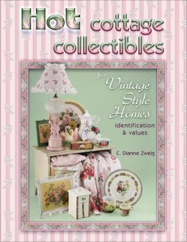 9781574326062: Hot Cottage Collectibles for Vintage Style Homes