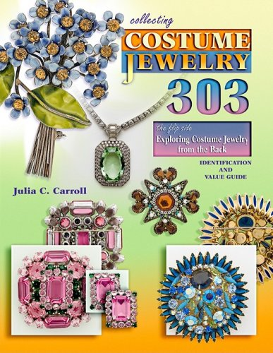 Collecting Costume Jewelry 303 - the flip side Exploring Costume Jewelry from the Back ...