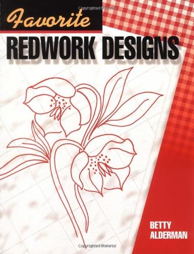 9781574327335: Favorite Redwork Designs