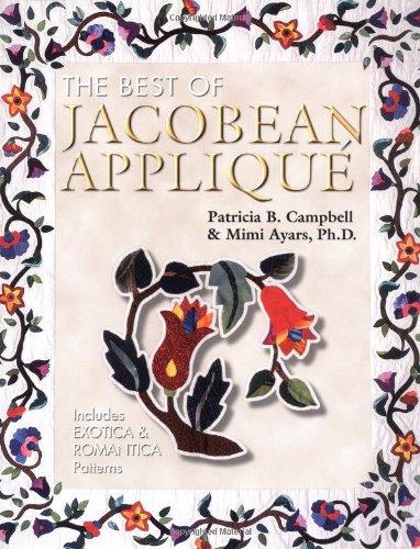 The Best of Jacobean Applique Vol. 3: Cherry Pyron; Patricia