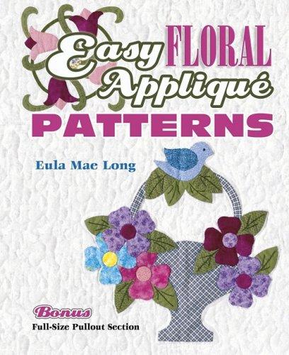 9781574328318: Easy Floral Applique Patterns